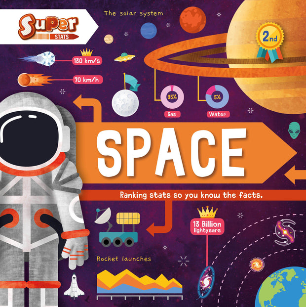Super Stats!: Space | Children's Books | Non-Fiction Books | BookLife Publishing Ltd