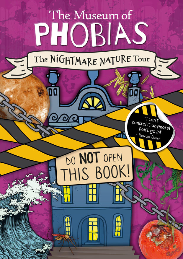 The Museum of Phobias: The Nightmare Nature Tour | Children's Books | Non-Fiction Books | BookLife Publishing Ltd