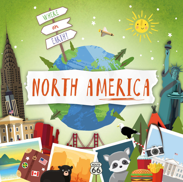 Where on Earth?: North America
