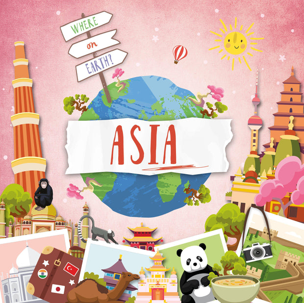 Where on Earth?: Asia
