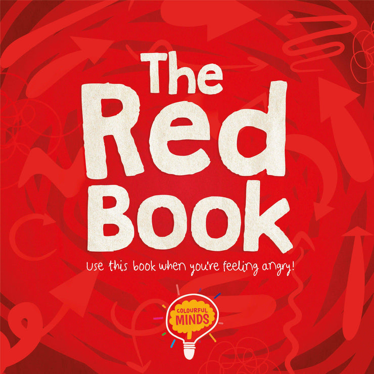 Colourful Minds: The Red Book | Children's Non-Fiction books | Children's Feeling Angry Books