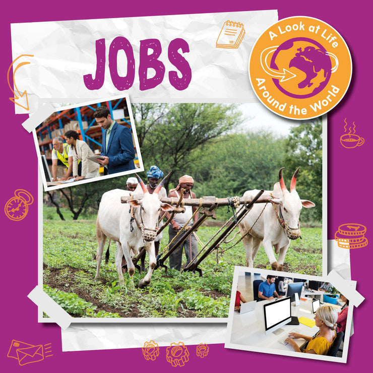 A Look at Life Around the World: Jobs | Children's Books | Non-Fiction Books | BookLife Publishing Ltd