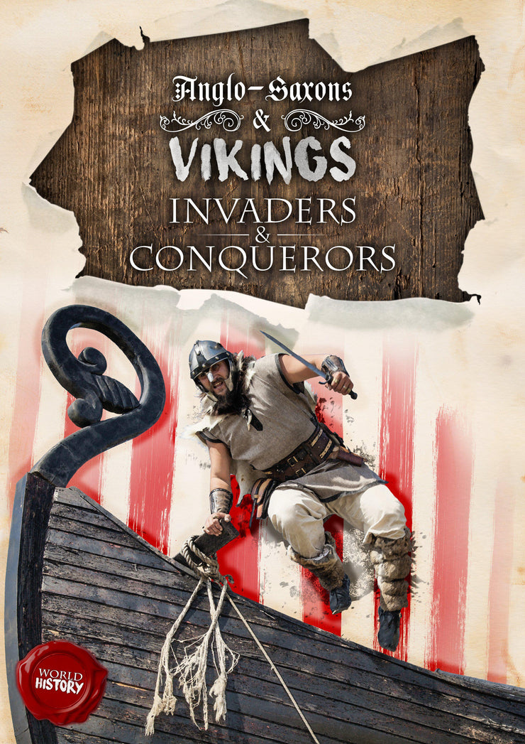 World History: Invaders and Conquerors | Children's Books | Non-Fiction Books | BookLife Publishing Ltd