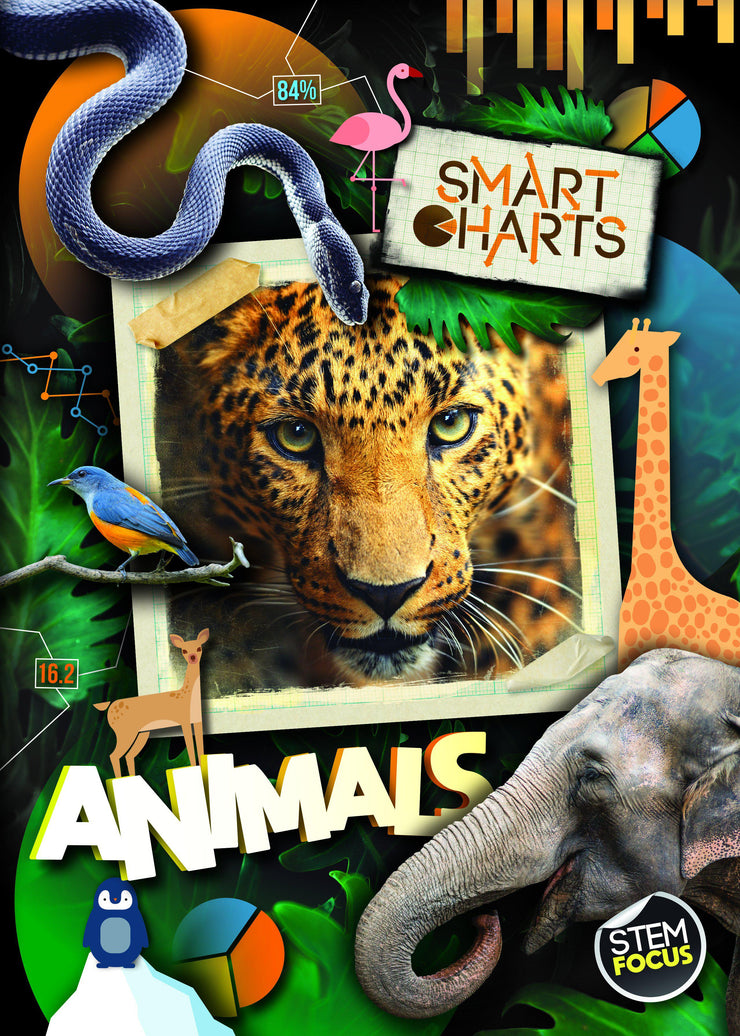 Smart Charts: Animals | Children's Books | Non-Fiction Books | BookLife Publishing Ltd