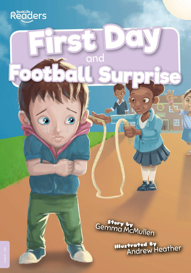 BookLife Readers: First Day and Football Surprise