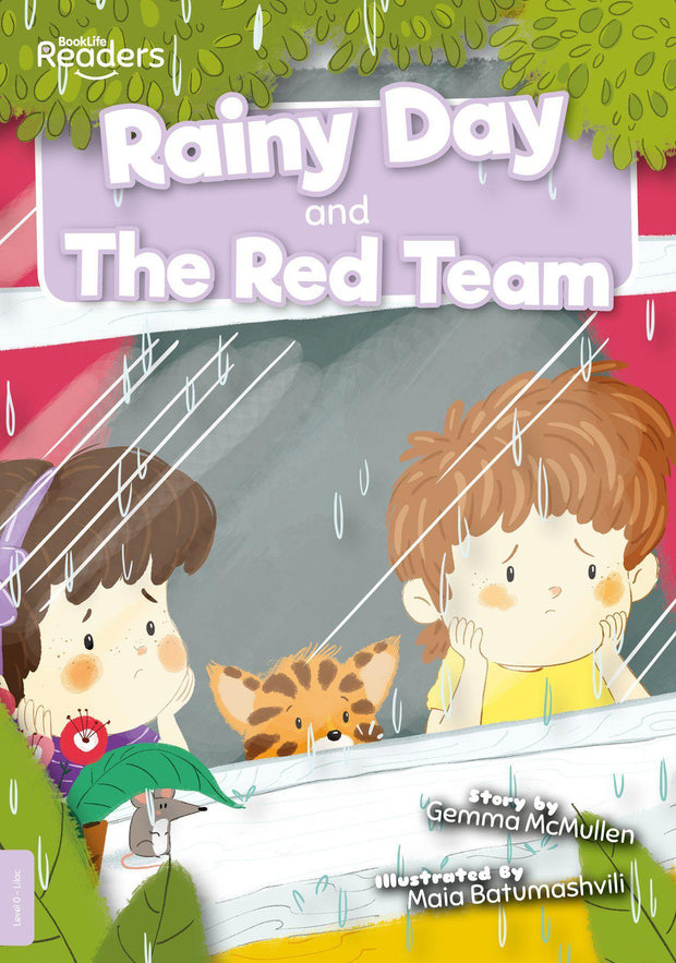 BookLife Readers: Rainy Day and The Red Team