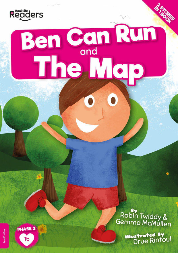 BookLife Readers: Ben Can Run And The Map