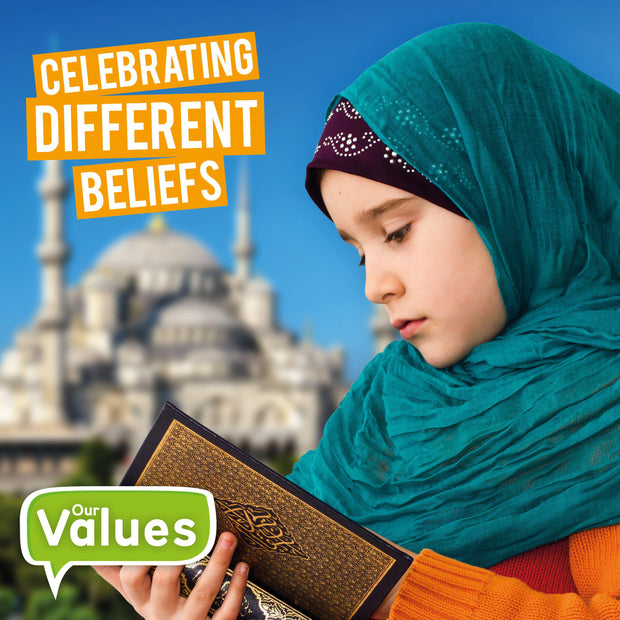 Our Values: Celebrating Different Beliefs | Children's Books | Non-Fiction Books | BookLife Publishing Ltd