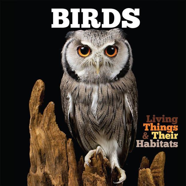 Living Things and Their Habitats: Birds | Children's Books | Non-Fiction Books | BookLife Publishing Ltd