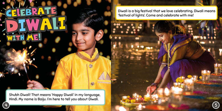 Celebrate with Me: Diwali
