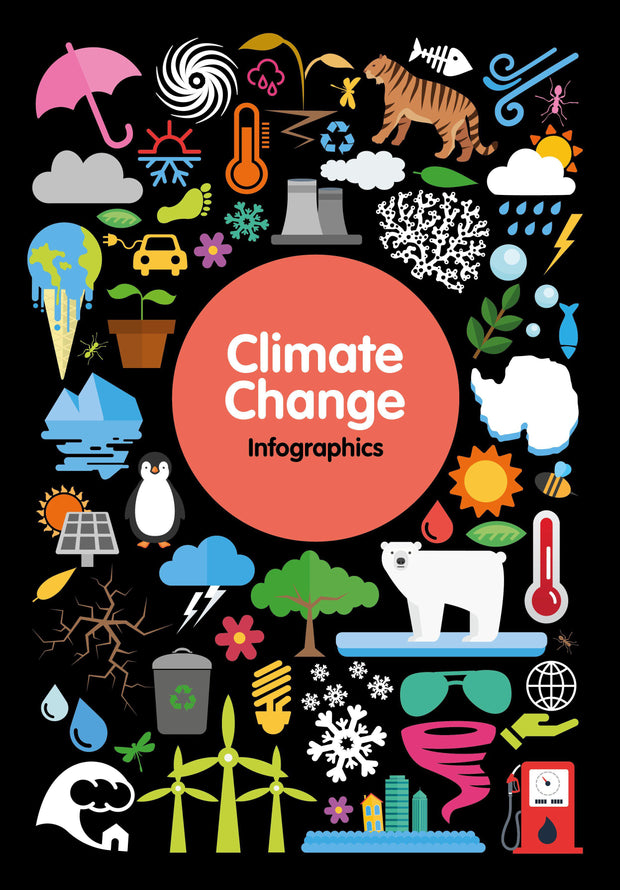 Infographics: Climate Change | Children's Books | Non-Fiction Books | BookLife Publishing Ltd