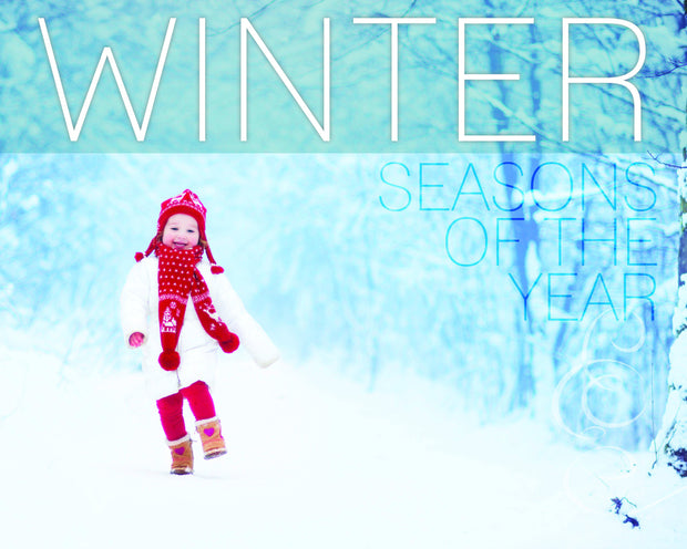 Seasons of the Year: Winter | Children's Books | Non-Fiction Books | BookLife Publishing Ltd