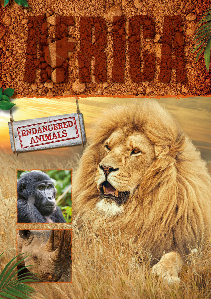 Endangered Animals: Africa | Children's Books | Non-Fiction Books | BookLife Publishing Ltd