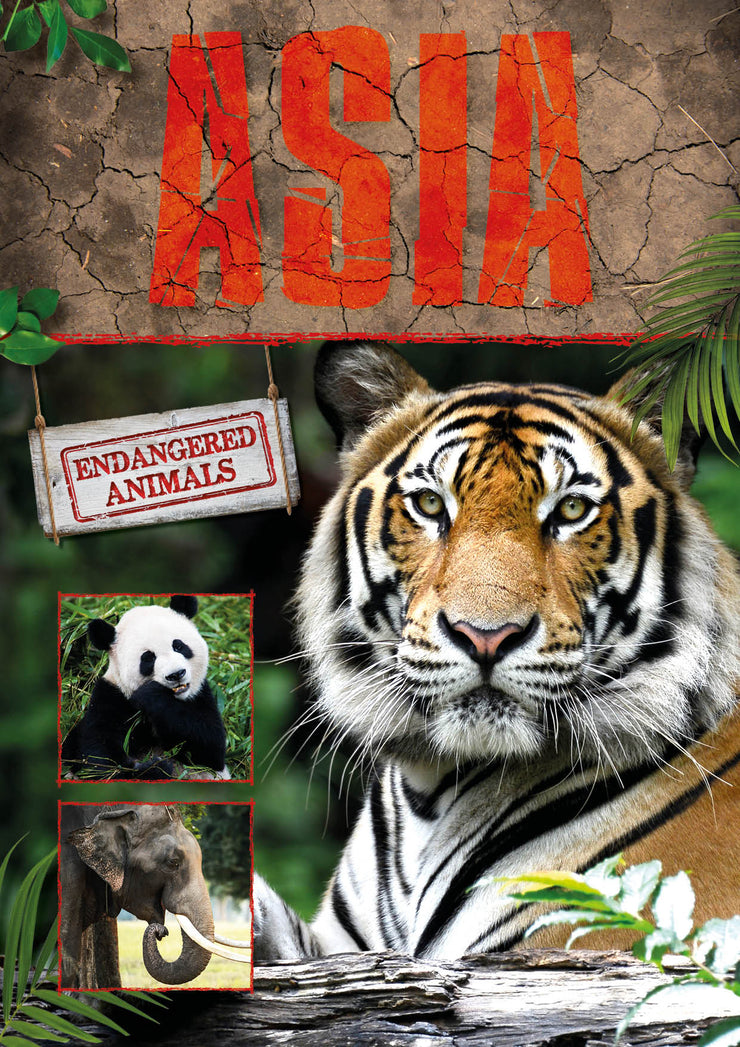 Endangered Animals: Asia | Children's Books | Non-Fiction Books | BookLife Publishing Ltd
