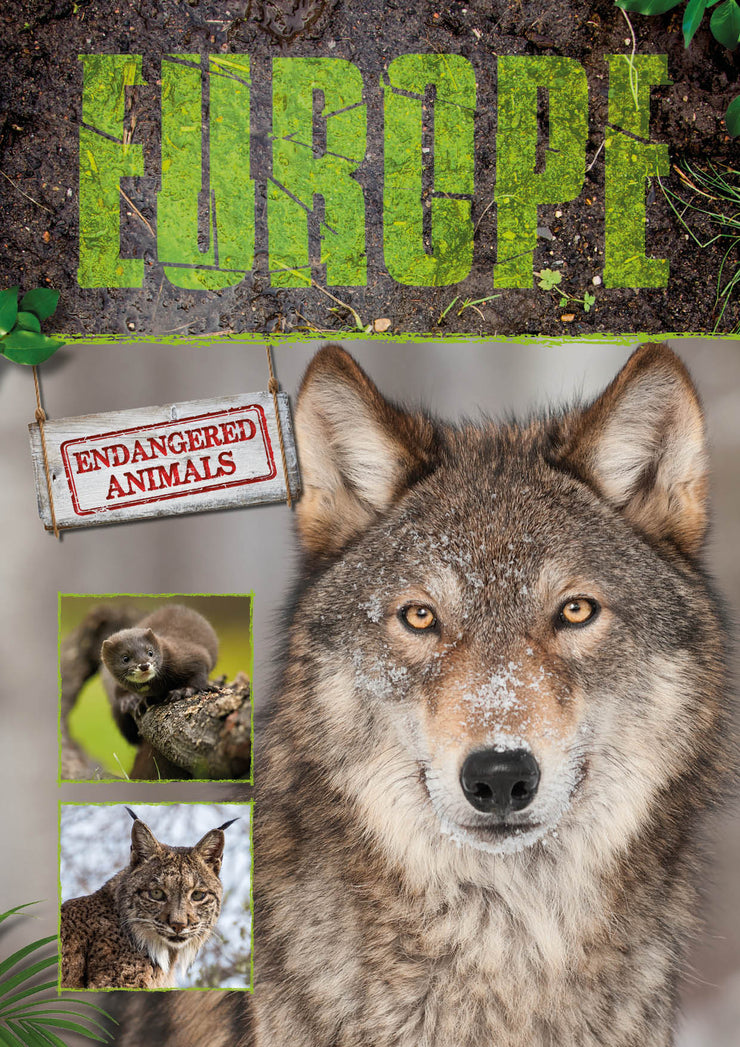 Endangered Animals: Europe | Children's Books | Non-Fiction Books | BookLife Publishing Ltd