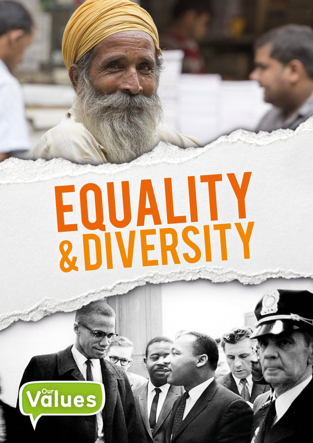 Our Values: Equality and Diversity | Children's Books | Non-Fiction Books | BookLife Publishing Ltd
