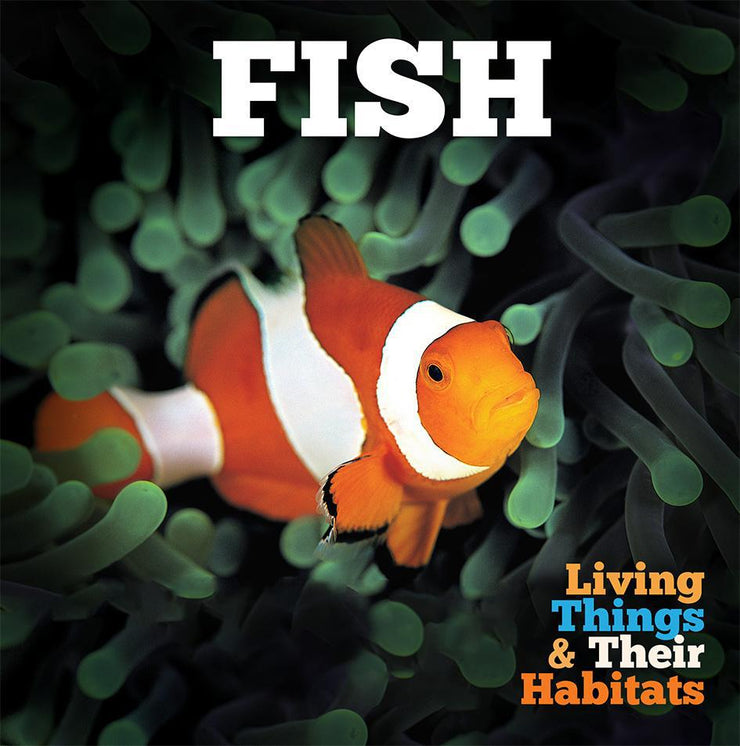 Living Things and Their Habitats: Fish | Children's Books | Non-Fiction Books | BookLife Publishing Ltd