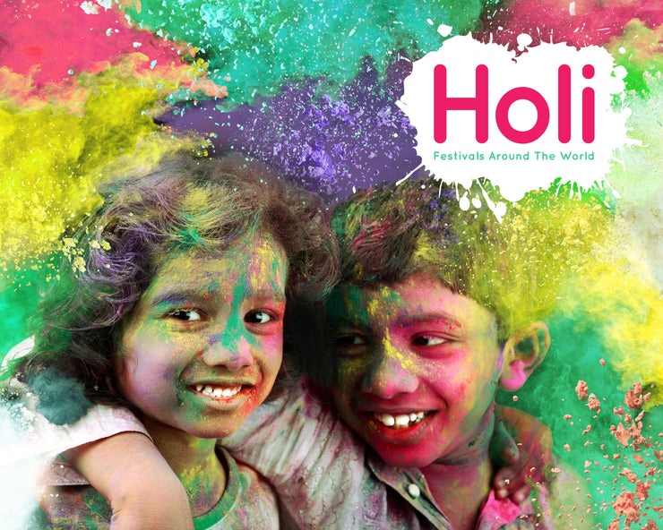Festivals Around the World: Holi | Children's Books | Non-Fiction Books | BookLife Publishing Ltd