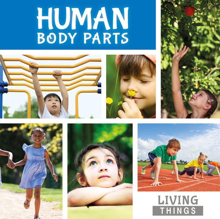 Living Things: Human Body Parts | Children's Books | Non-Fiction Books | BookLife Publishing Ltd