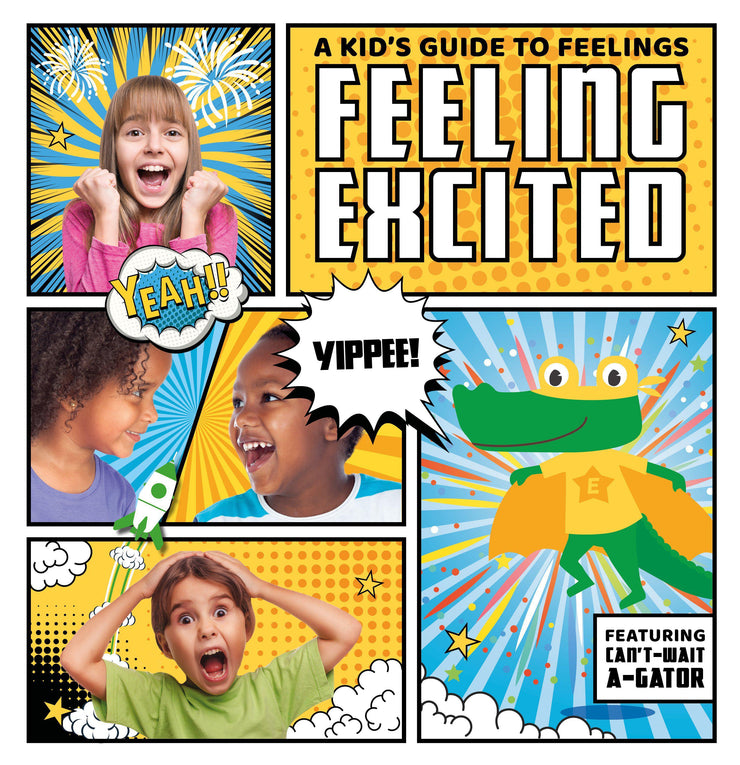 A Kid's Guide to Feelings: Feeling Excited | Children's Books | Non-Fiction Books | BookLife Publishing Ltd