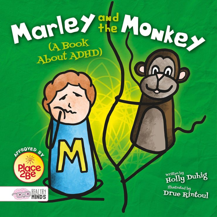 Healthy Minds: Marley and the Monkey (A Book About ADHD) | Children's Books | Non-Fiction Books | BookLife Publishing Ltd