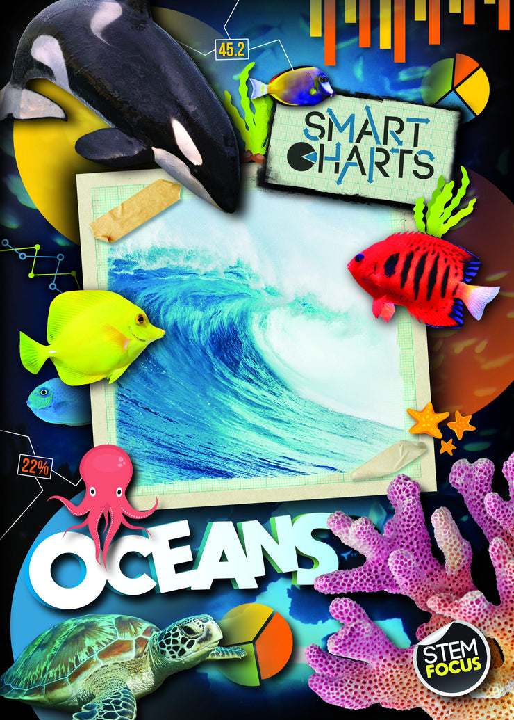 Smart Charts: Oceans | Children's Books | Non-Fiction Books | BookLife Publishing Ltd