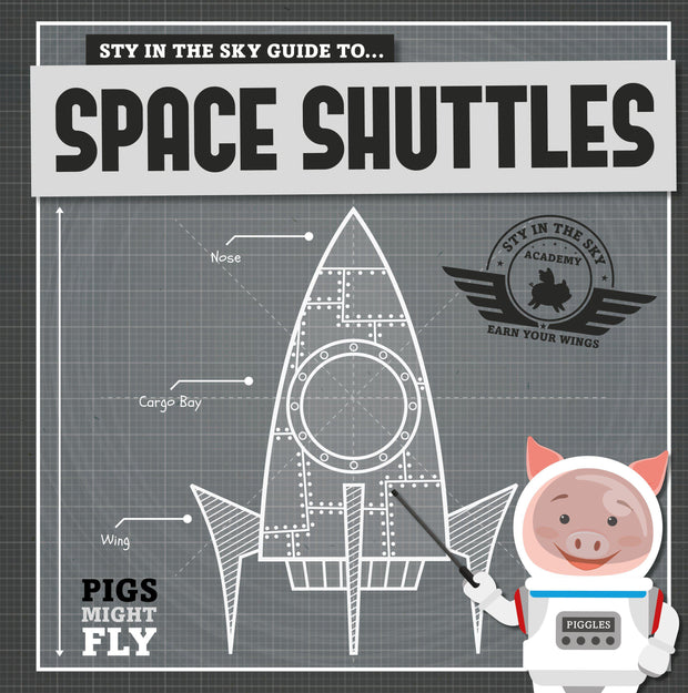 Pigs Might Fly!: Space Shuttles | Children's Books | Non-Fiction Books | BookLife Publishing Ltd