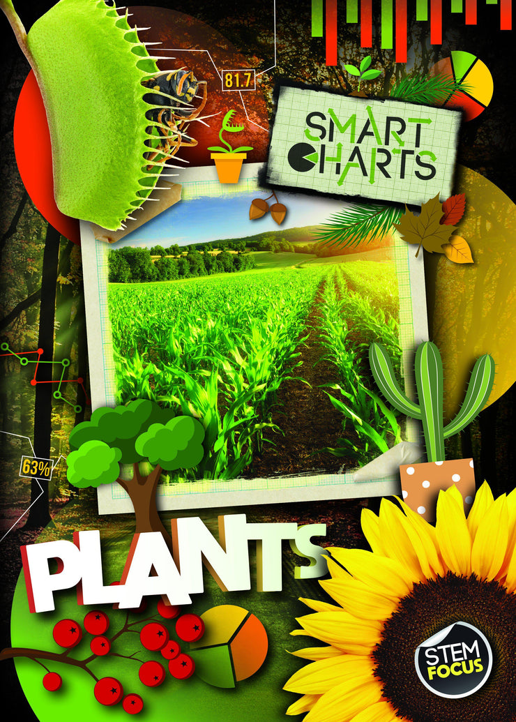 Smart Charts: Plants | Children's Books | Non-Fiction Books | BookLife Publishing Ltd