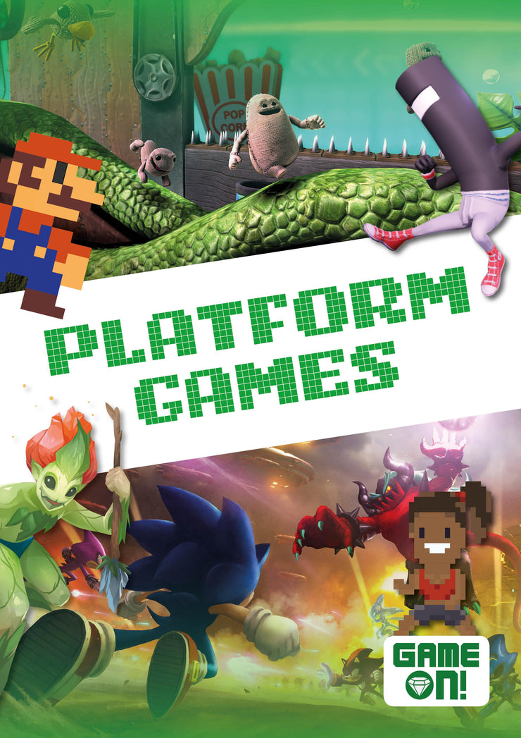 Game On!: Platform Games | Children's Books | Non-Fiction Books | BookLife Publishing Ltd