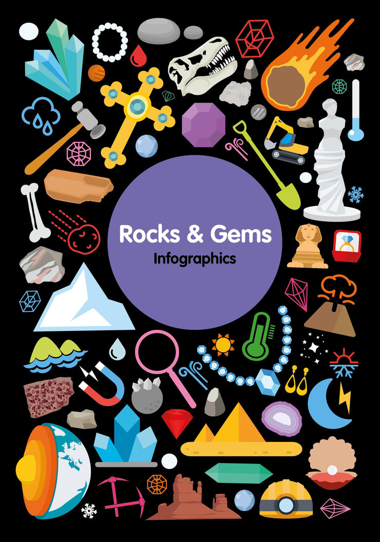 Infographics: Rocks and Gems | Children's Books | Non-Fiction Books | BookLife Publishing Ltd