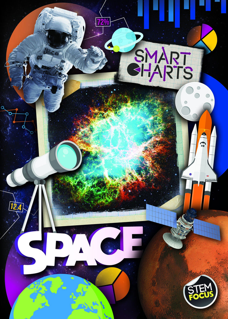 Smart Charts: Space | Children's Books | Non-Fiction Books | BookLife Publishing Ltd