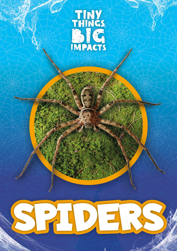 Tiny Things, Big Impacts: Spiders | Children's Books | Non-Fiction Books | BookLife Publishing Ltd