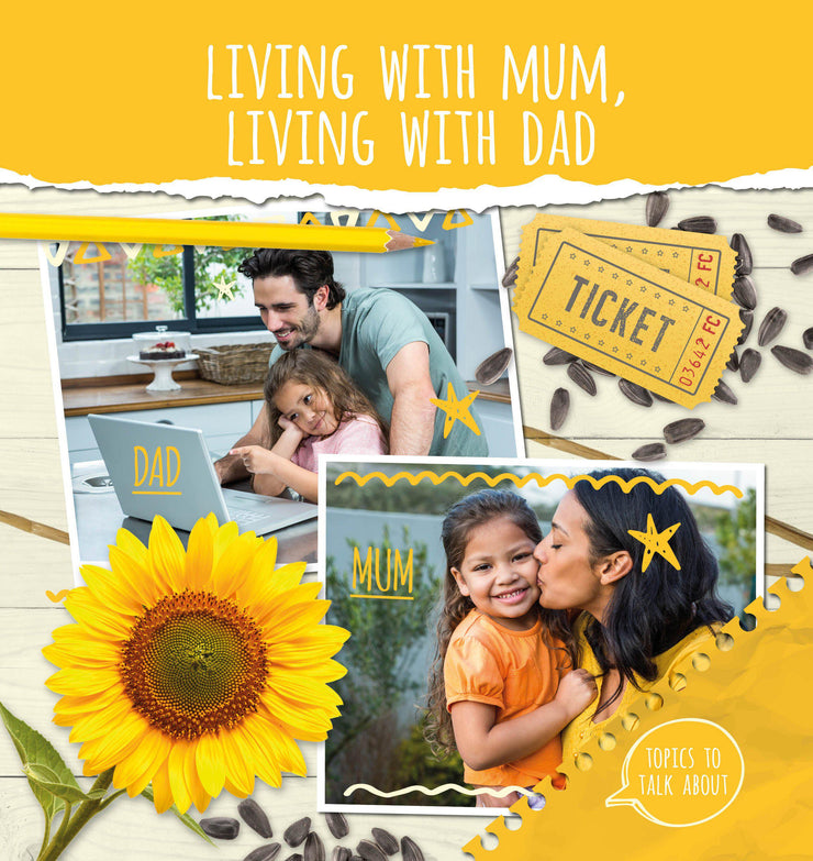 Topics to Talk About: Living With Mum, Living With Dad | Children's Books | Non-Fiction Books | BookLife Publishing Ltd