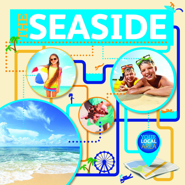 Your Local Area: Seaside | Children's Books | Non-Fiction Books | BookLife Publishing Ltd