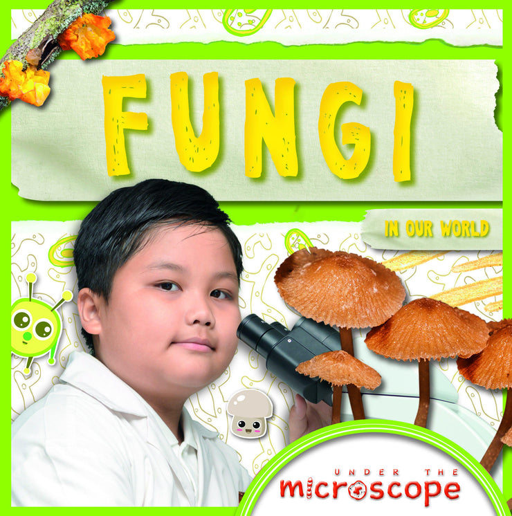 Under the Microscope: Fungi | Children's Books | Non-Fiction Books | BookLife Publishing Ltd