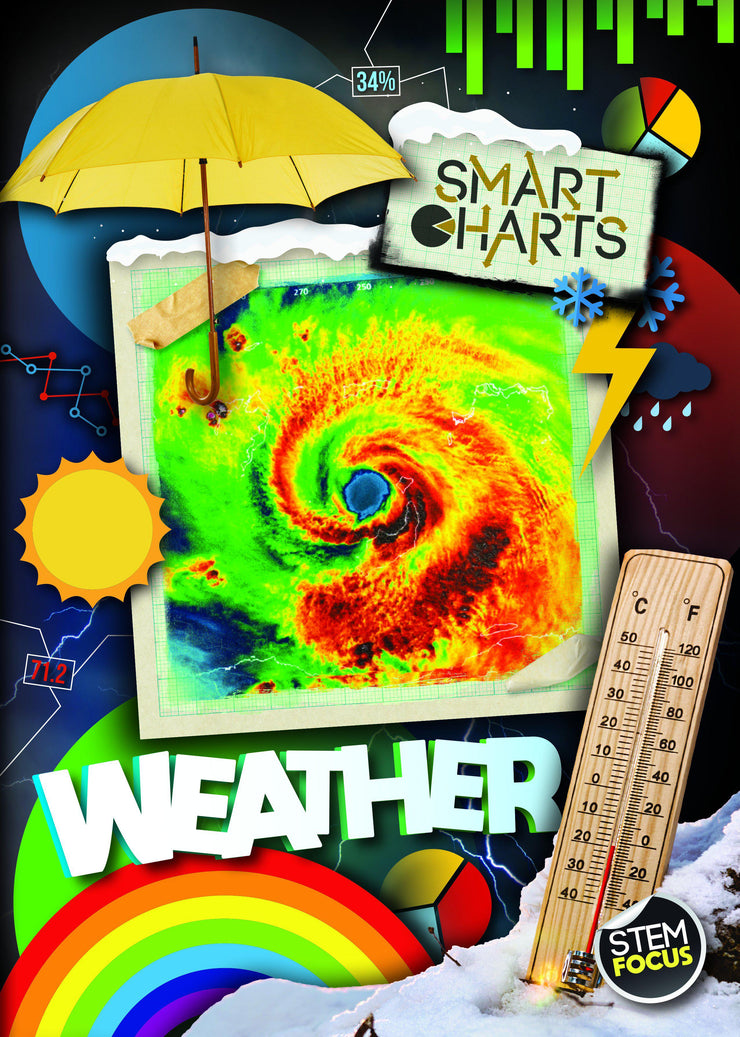 Smart Charts: Weather | Children's Books | Non-Fiction Books | BookLife Publishing Ltd