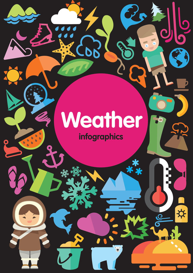 Infographics: Weather | Children's Books | Non-Fiction Books | BookLife Publishing Ltd