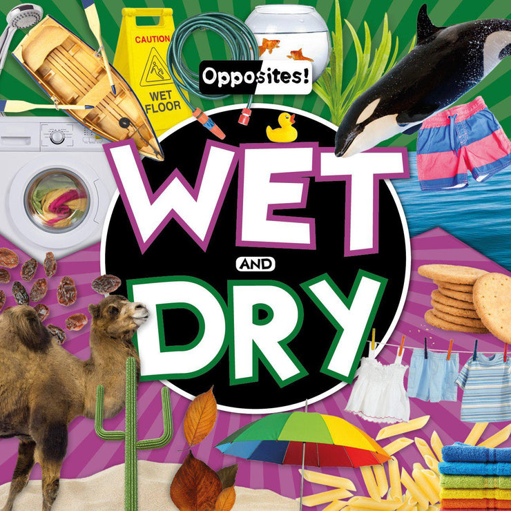 Opposites!: Wet and Dry | Children's Books | Non-Fiction Books | BookLife Publishing Ltd