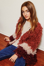 Load image into Gallery viewer, Shaggy Knit Jacket