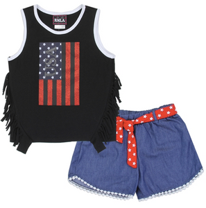 American Girl Short Set