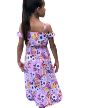 Load image into Gallery viewer, Floral Walk Through Dress