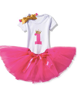 Baby's First Birthday Outfit - 12M