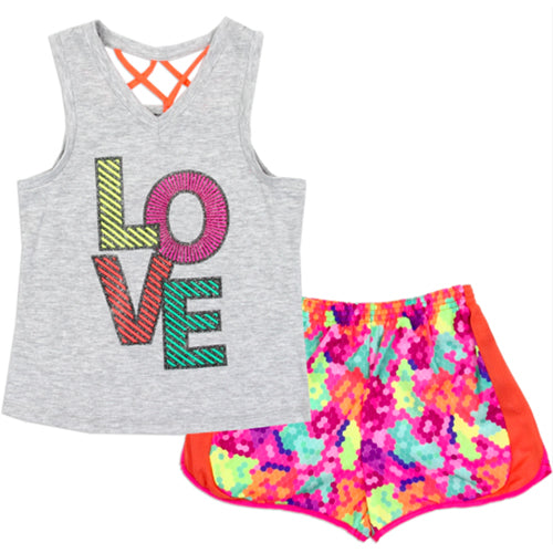 Love Active Short Set