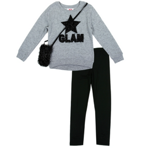 Glam Fleece Legging Set