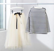 Load image into Gallery viewer, Long Sleeve Shirt + Tulle Combo