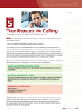 Reasons for Calling - Phone Scripts