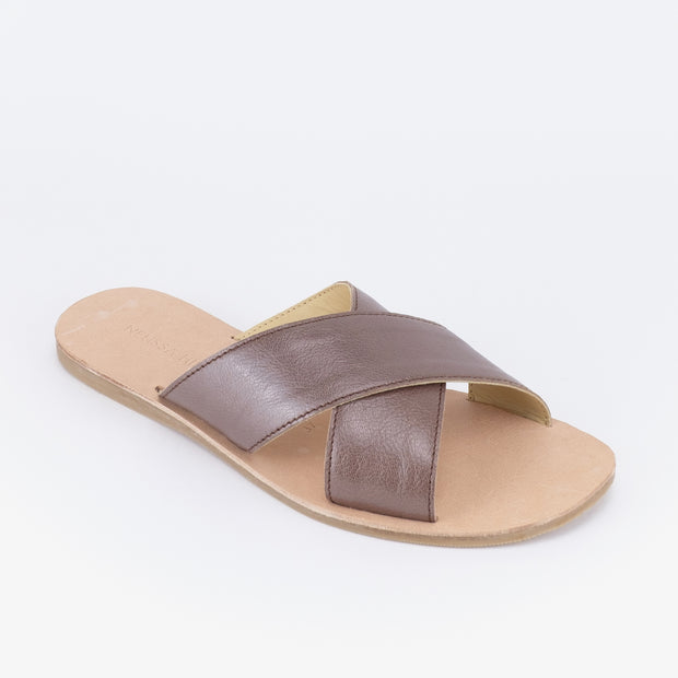 Alya Sandals (Brown)