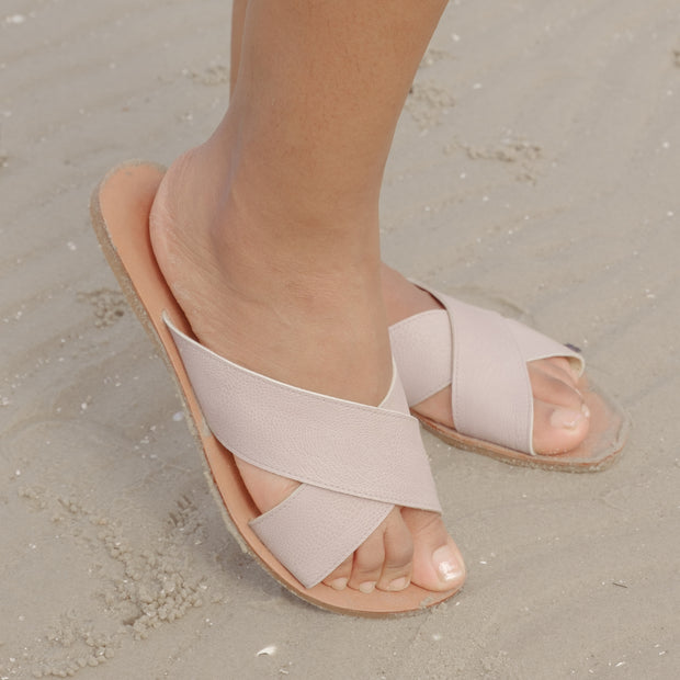 Alya Sandals (Light Taupe)
