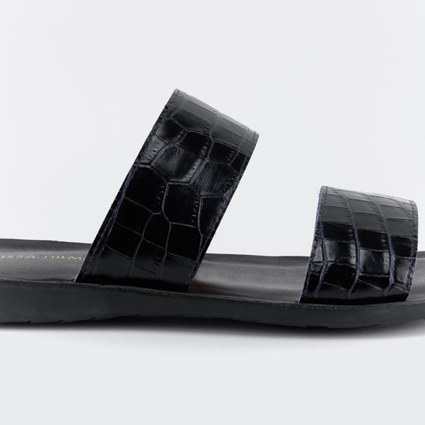 Men's Aries Sandals (Black) - Nelissa Hilman
