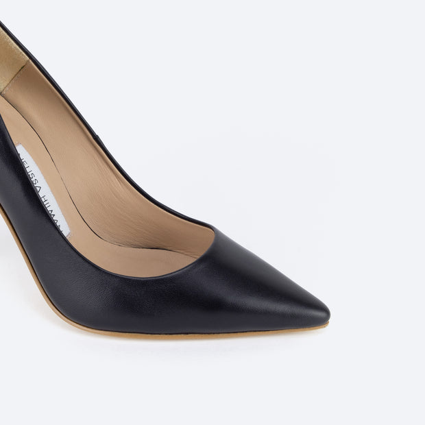 Classic 100 Pointy Pumps (Black)
